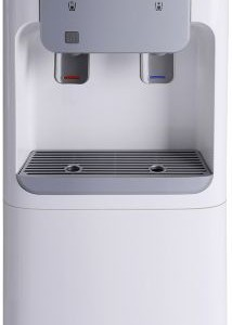 KOLDAIR WATER DISPENSER 2 SPIGOTS COLD/HOT WHITE*GRAY B1.3